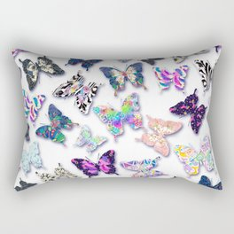 Fancy Flutterbies Rectangular Pillow