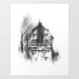 The Lutz Home Art Print
