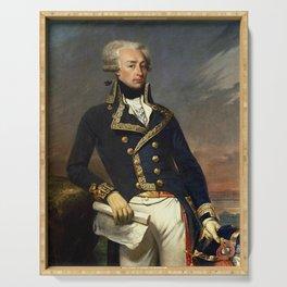 Marquis de Lafayette Painting - Joseph-Desire Court Serving Tray