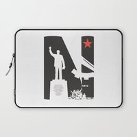 1975 Laptop Sleeves featuring Neto 11Nov 1975 by Angola