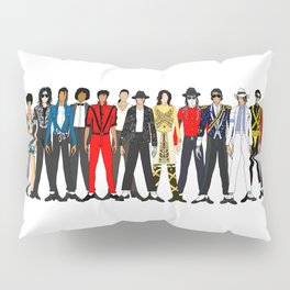 King MJ Pop Music Fashion LV Pillow Sham