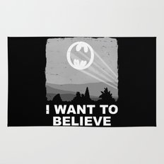 I Want to Believe in a Hero Rug
