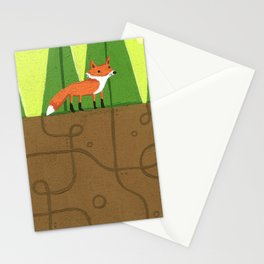 Earth Fox Stationery Cards