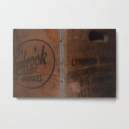 Crate Metal Print