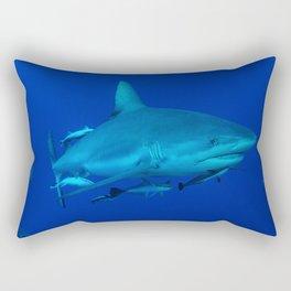 Grey Reef Shark on the Great Barrier Reef Rectangular Pillow