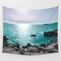 Turquoise Cove Wall Tapestry