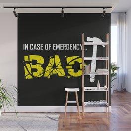 Emergency Break Wall Mural