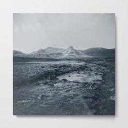 Moody Mountains II Metal Print