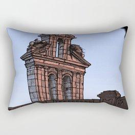 Bell Gable (color) Rectangular Pillow