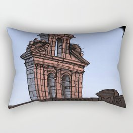 Bell Gable (color) Rectangular Pillow