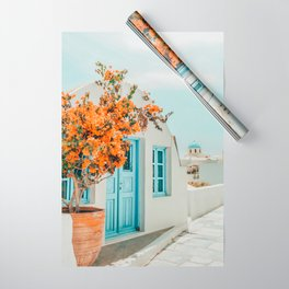 Greece Airbnb #photography #greece #travel Wrapping Paper