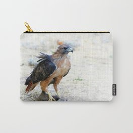 Hungry Red Teiled Hawk Carry-All Pouch