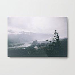 Columbia River Gorge VI Metal Print