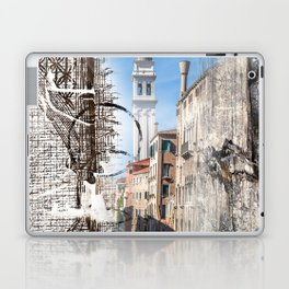 Postcard from Venice Laptop & iPad Skin