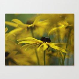 Yellow Ecstasy Canvas Print