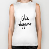 chic Biker Tanks featuring CHIC  by I Love Decor