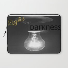 Light in the Darkness Laptop Sleeve