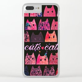 cat-265 Clear iPhone Case