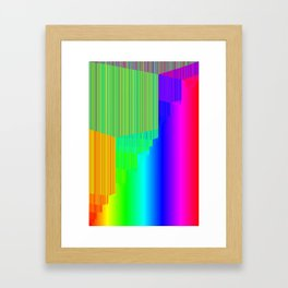 R Experiment 5 (quicksort v3) Framed Art Print