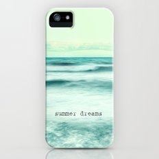Summer dreams at the sea iPhone (5, 5s) Slim Case