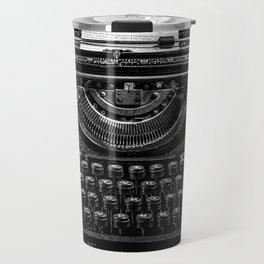 Old Typewriter Travel Mug