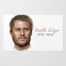 Heath Ledger Rug