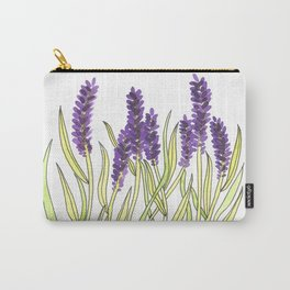 Lavender Illustration Carry-All Pouch