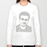 john green Long Sleeve T-shirts featuring John Green by S. L. Fina