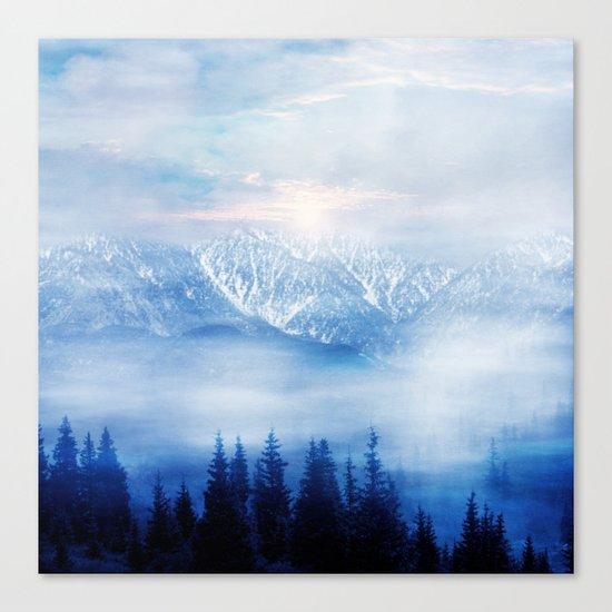 Pastel vibes 48 Canvas Print