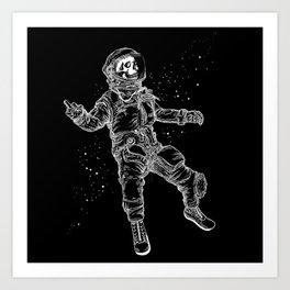 F-You Astronaut* Art Print