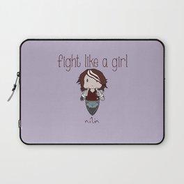 Fight Like a Girl - Nilin  Laptop Sleeve