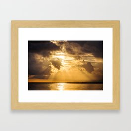 Thoughts of You Framed Art Print