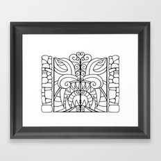 Threshold Guardian Framed Art Print
