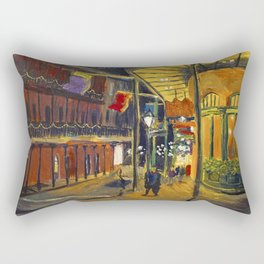 Nola at Night Rectangular Pillow
