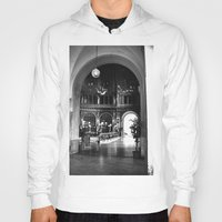 prague Hoodies featuring Prague Station by MereMades