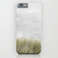 Beach grass and clouds iPhone 6s Slim Case