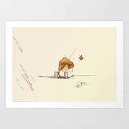 #coffeemonsters 456 Art Print