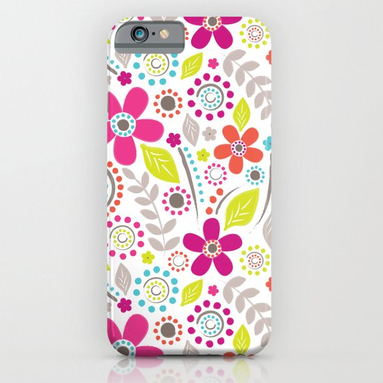 Inky Floral iPhone & iPod Case