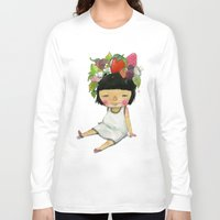 spring Long Sleeve T-shirts featuring Spring  by Young Ju