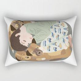 Nap time palls Rectangular Pillow