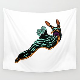 Bright Nudibranch Wall Tapestry