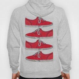 Red Shoe. Hoody