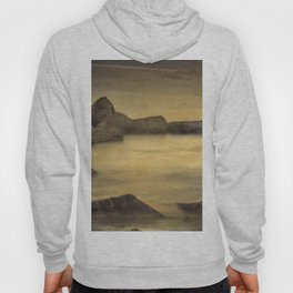 Water Barriers. Hand Painted Photograph Hoody