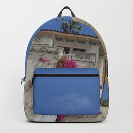 Castle fountain Backpack
