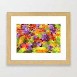 Kats Colors Framed Art Print