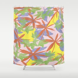 Flowers HY Shower Curtain