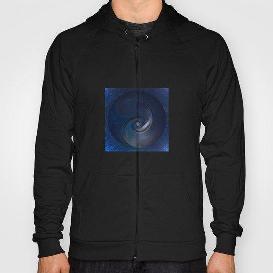 Sea Shell in Dark Blue Hoody
