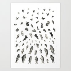 BEGGINNINGS Art Print