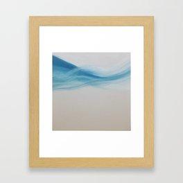 South Beach Poolside Framed Art Print