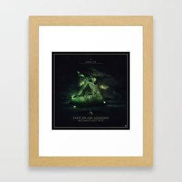 Since we are Assassins Ep Cover Framed Art Print